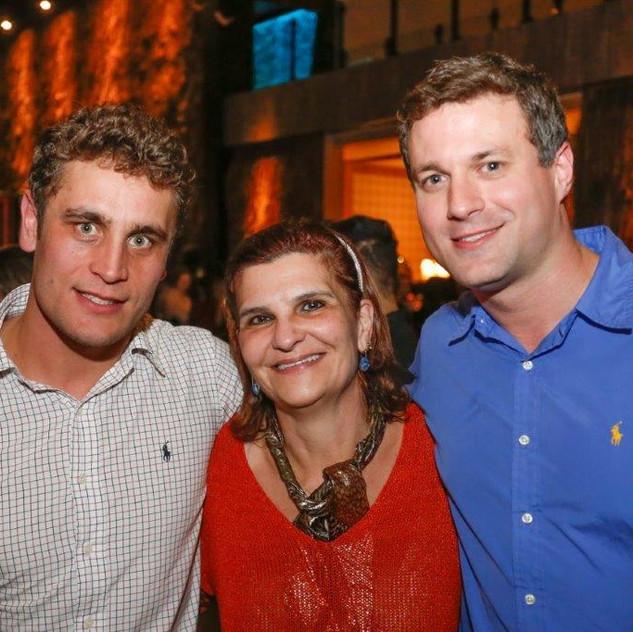 Symon Hilgemberg, Rosita Moro e Andre Panato
