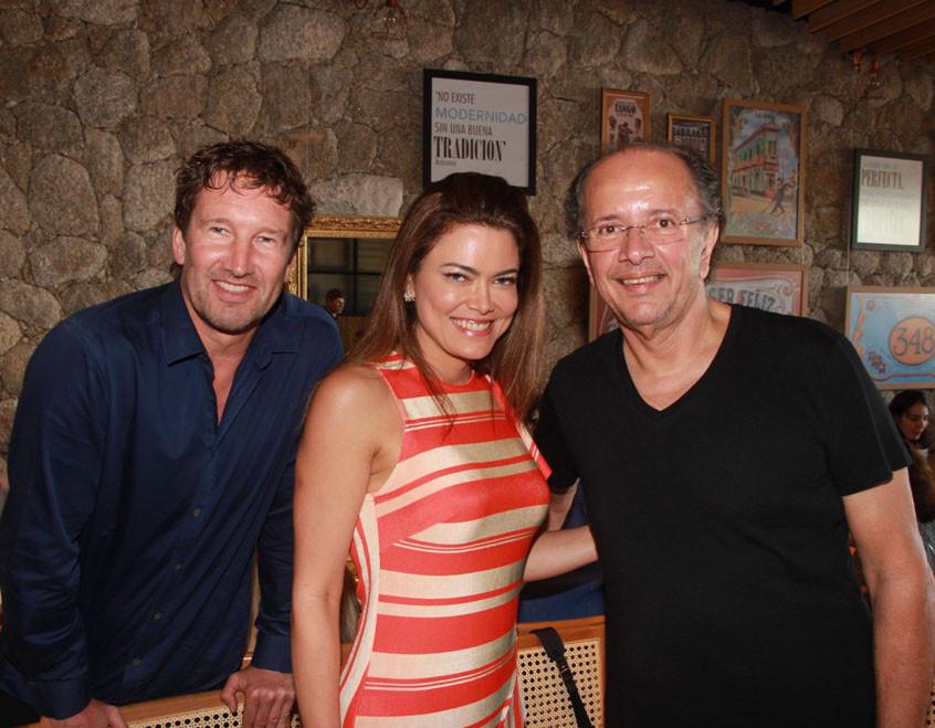 Jean Forneri, Wannine Lima e David Bastos
