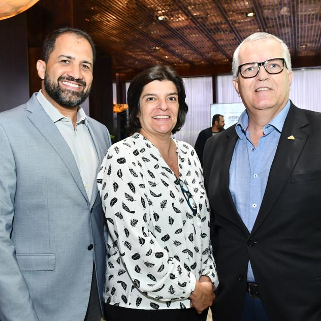 Glauco Ferrer, Roberta Britto e Celmo de