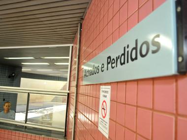 Achados e Perdidos do Metrô recolheu mais de 54 mil objetos em 2020