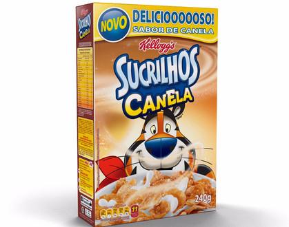 Sucrilhos com novo sabor de canela é lançado no Brasil