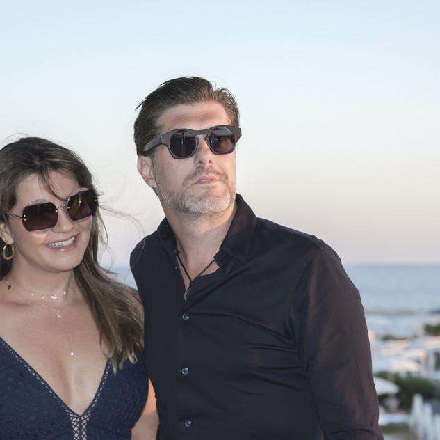 Patricia Neto e Gustavo Martins