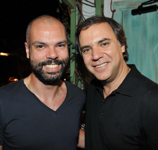 Bruno Covas e Miled Khoury