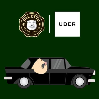 Uber distribui sorvete de graça nessa sexta-feira