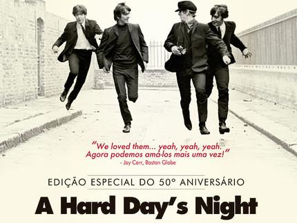"""""""A Hard Day´s Night"""" entra em cartaz remasterizado"""