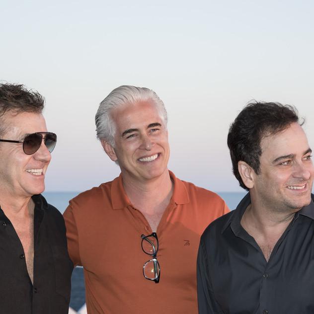 Roberto Migotto, Romero Duarte e Ricardo Minelli