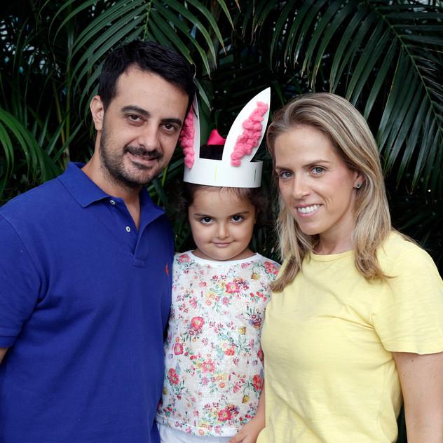 Udo Nery, Patricia Garcez Neri e Olívia