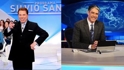 Sílvio Santos e Bonner envelhecem melhor do que George Clooney, aponta pesquisa