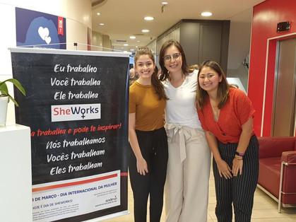 Segunda edição do Sheworks traz novas oportunidades profissionais para mulheres