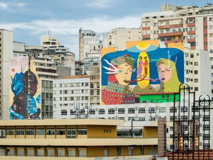 Pandemia mostra a importância da arte de rua e transforma a cidades em museus a céu aberto