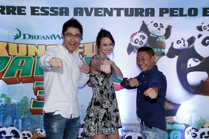 "Fotos - Pré-estreia ""Kung Fu Panda 3"", no JK Iguatemi"