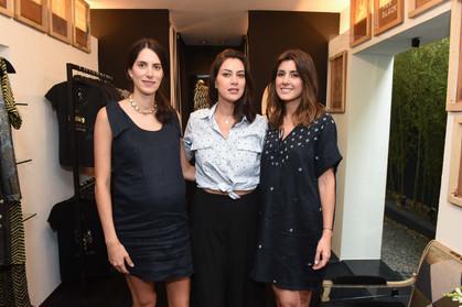 Ana Piva de Albuquerque e Julie Chermann lançam linha de vestidos
