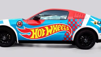 Em dezembro, você poderá rodar em um Mustang Hot Wheels pelas ruas de São Paulo