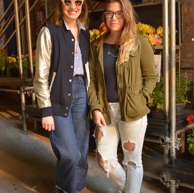 Bianca Funaro e Elisa Toldi