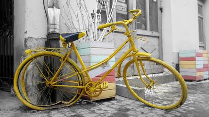Espaço Alana arrecada peças de bicicletas sem uso para ação social