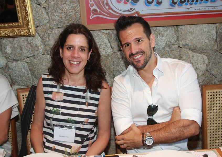 Camila Alves e Bruno Carvalho