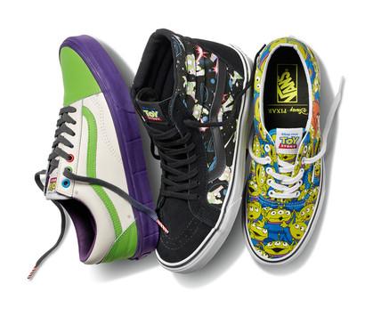 Loja recebe a coleção Vans inspirada em Toy Story