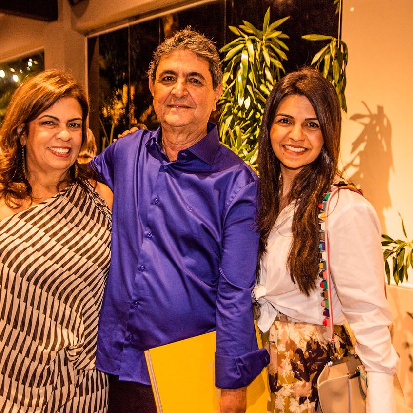 Thaís Darzé, Paulo Darzé e Cristina Darz