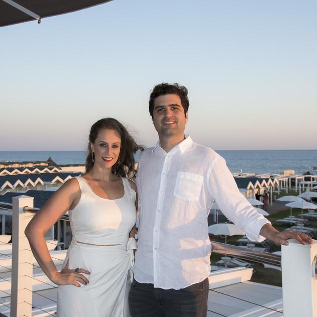 Carol Lovizaro e Gustavo Orlean
