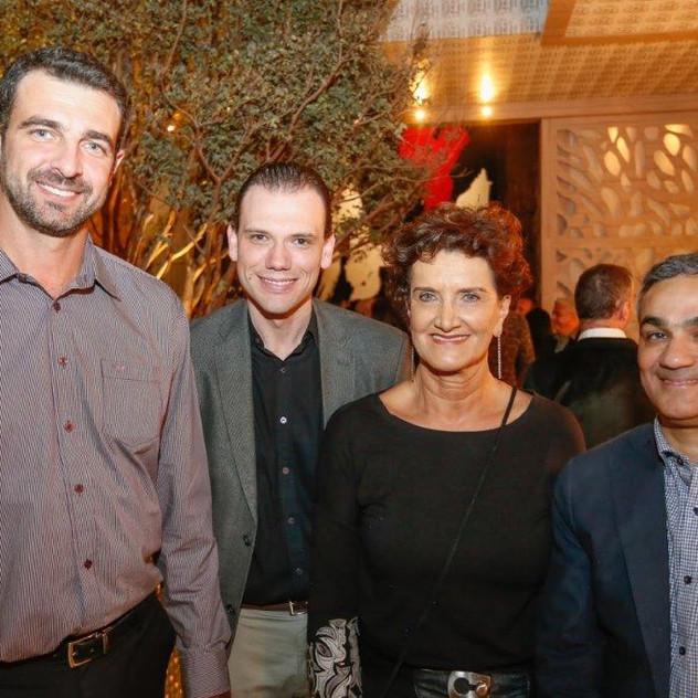 Rodrigo Amado, Diego Antoniacomi, Marina Nessi e Elcio Meneze
