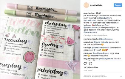 Inglesa compartilha sua organização impecável pelo Instagram