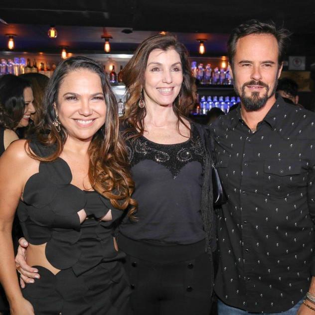 Sandra Teschner, Ana Bacellar (Diretora de Mkt do CPB) e Paulinho Vilhen...