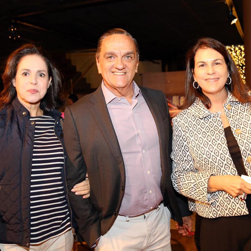 MARCIA JACINTHO, MAURICIO E LILIANE JACINTHO