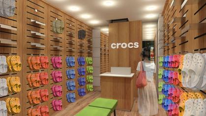 Marca Crocs inaugura loja na Oscar Freire