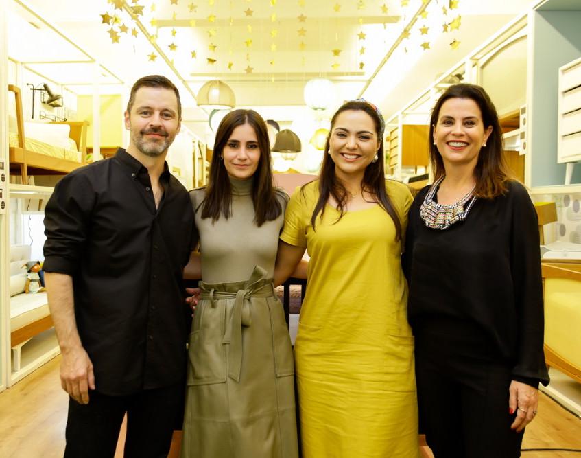 Mauricio Arruda, Renata Castilho, Lu Rau