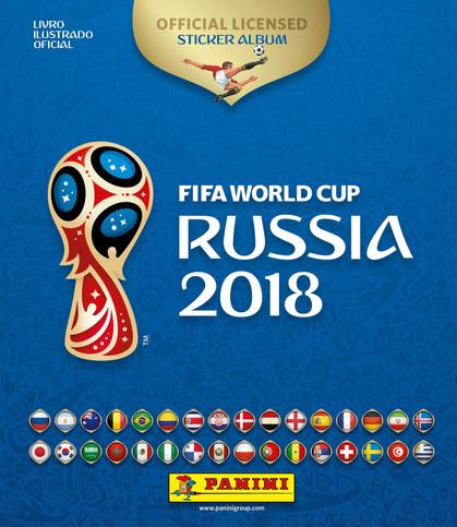 Panini lança álbum de figurinhas oficial da Copa do Mundo da FIFA Rússia 2018