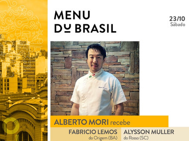 Kurâ Izakaya recebe chefs renomados para o jantar do Festival Fartura Gastronomia Du Brasil