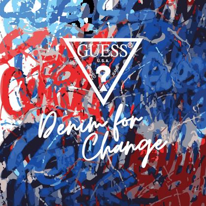 Guess promove 2ª edição do projeto social Denim For Change