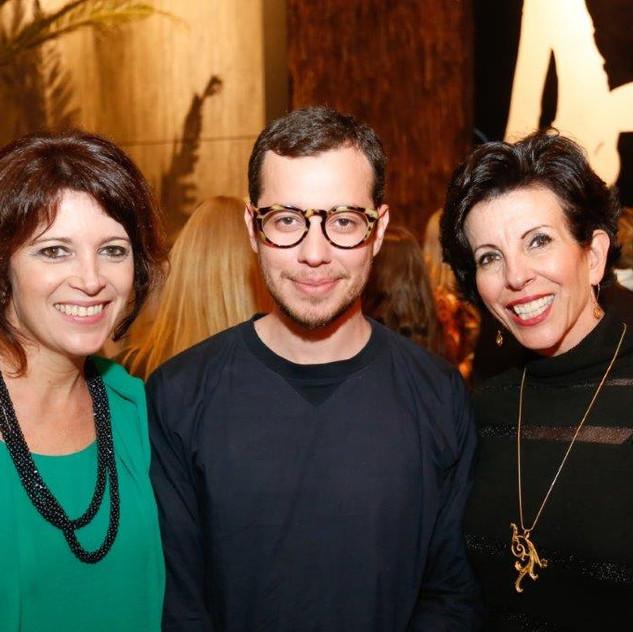 Renata Mccartney, Adelino Marino Neto e Eliane Baptista