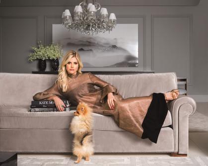 Lala Rudge é capa da revista Casa Vogue de Julho