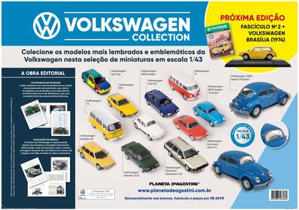 Planeta DeAgostini traz, em miniaturas, os veículos da Volkswagen que marcaram época