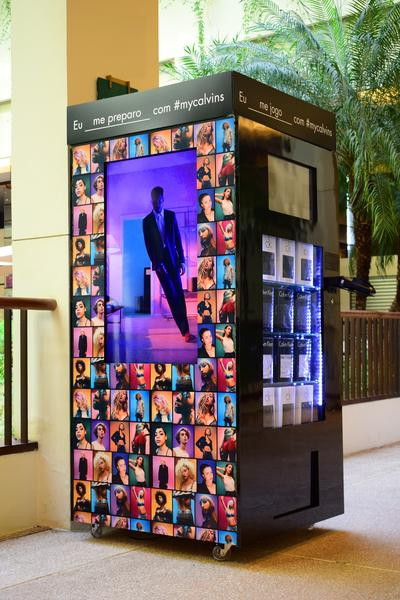 Shopping de São Paulo recebe Underwear Machine da Calvin Klein