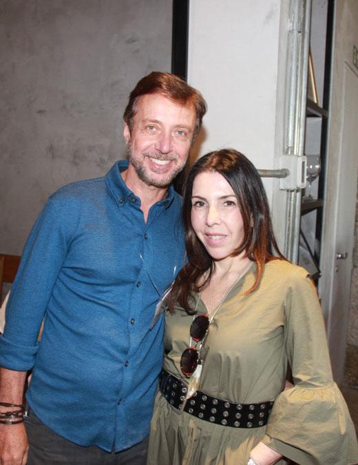 Luiz Fernando Grabowsky e Paola Ribeiro