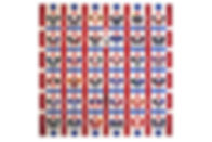 Парад зірок 135 х 135 (2019) Акрил, поло