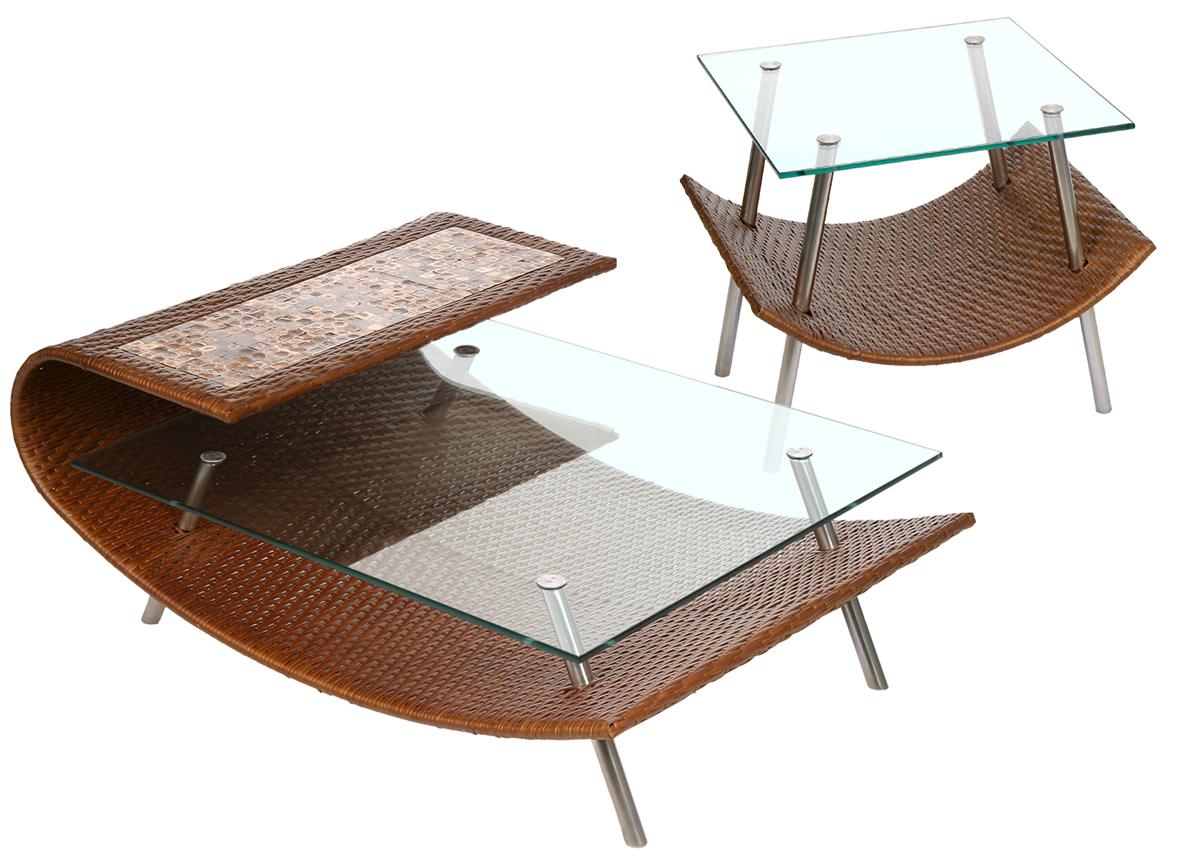 mesa de centro e lateral spot
