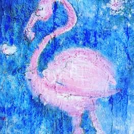 Blue Flamingo