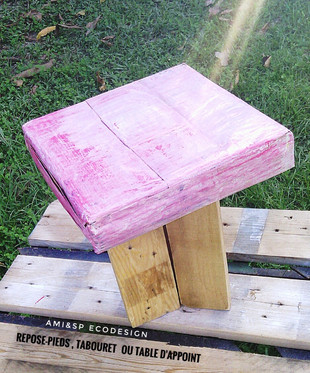 """""""Easy""""Tabouret ou table d'appoint"""