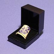 Branston Plastics hinged ring box