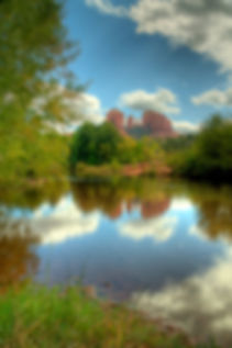 Cathedral Rock retreat in Sedona, Arizona