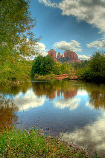 Cathedral Rock retreat in Sedona, Arizona