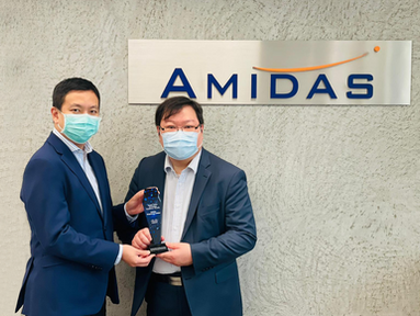 Amidas 榮獲Cisco Greater China Technology Excellence: Security獎項