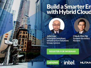 網上講座: Build a Smarter Enterprise with Hybrid Cloud (31/8, 11am)