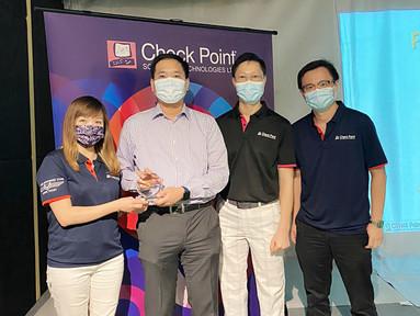 Amidas獲Check Point頒發Rising Star Growth Tech 2021 Award