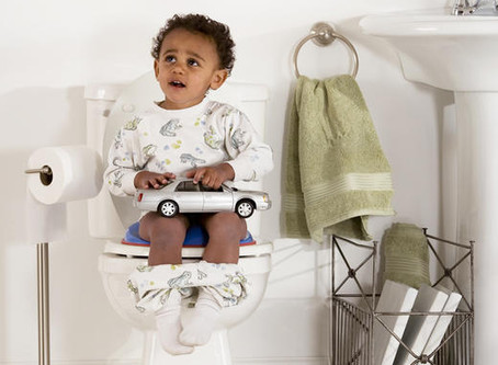 IS IT TIME TO POTTY-TRAIN YOUR CHILD?
