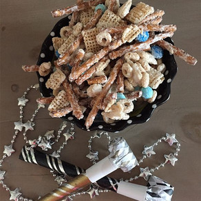 Fun 2020 New Years Snack Mix for Kids!