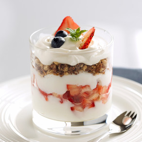 Layered Yogurt